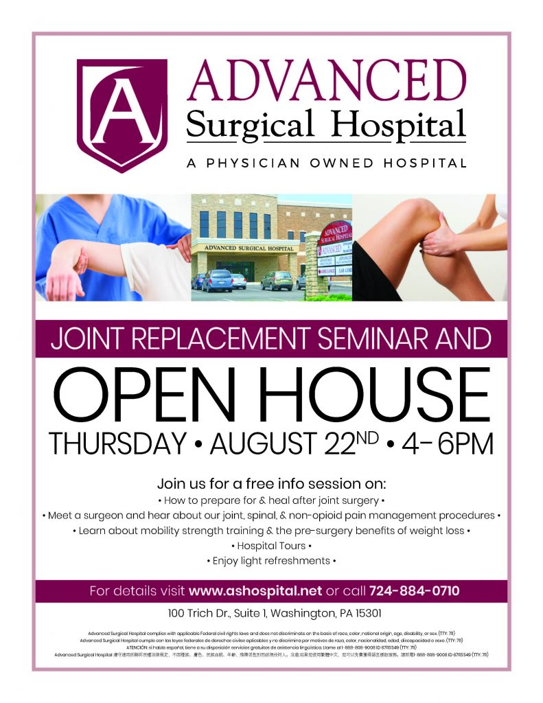 Advanced Surgical Open House